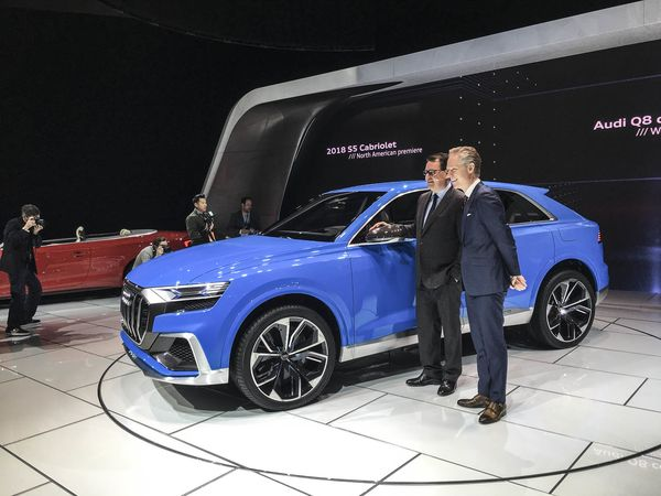 Detroit Auto Show Bloomberg Audi Q8 01