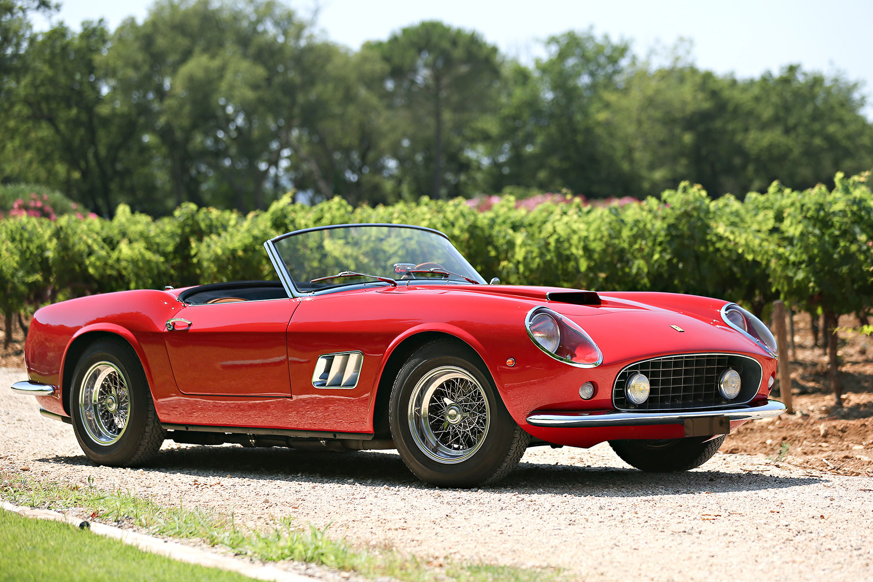 1961 Ferrari 250 GT SWB California Spider | Gooding & Co. | Estimate: $18,000,000