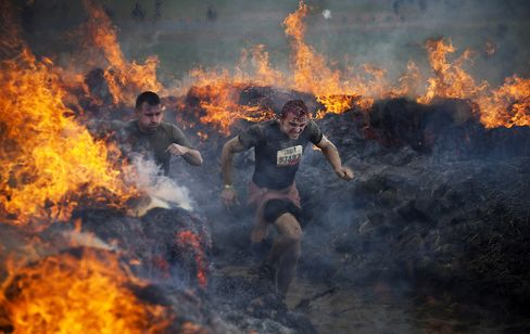 Tough Mudder Obstacle Competition