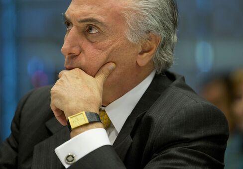 Brazil Vice President Michel Temer Interview