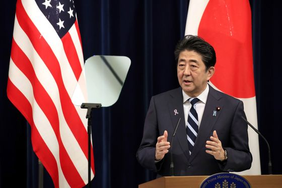 Abe's Foreign Policy Faces Doubt in Japan Ahead of Asia Summits