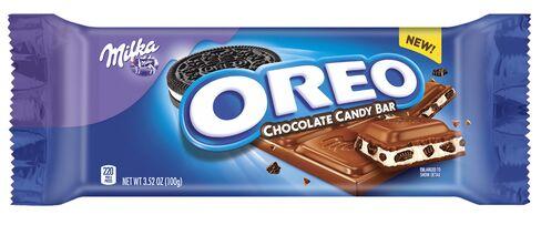Oreo-branded candy bar