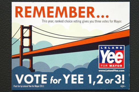 San Francisco Mayoral Candidates Vie for Second, Third Place