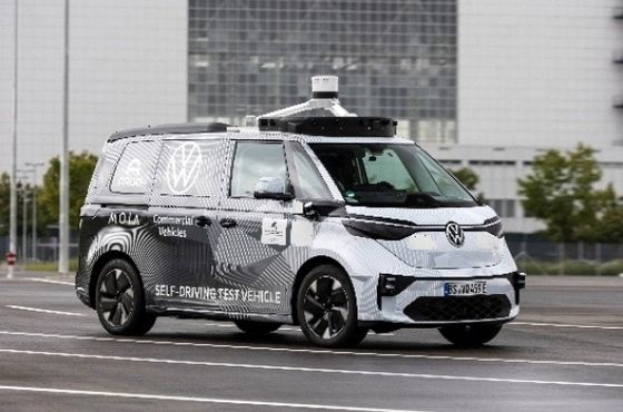 VW's Self-Driving Partner Closing In on German Public Road Tests