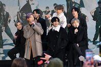 "K Pop Band BTS Visits ""Today"" Show"