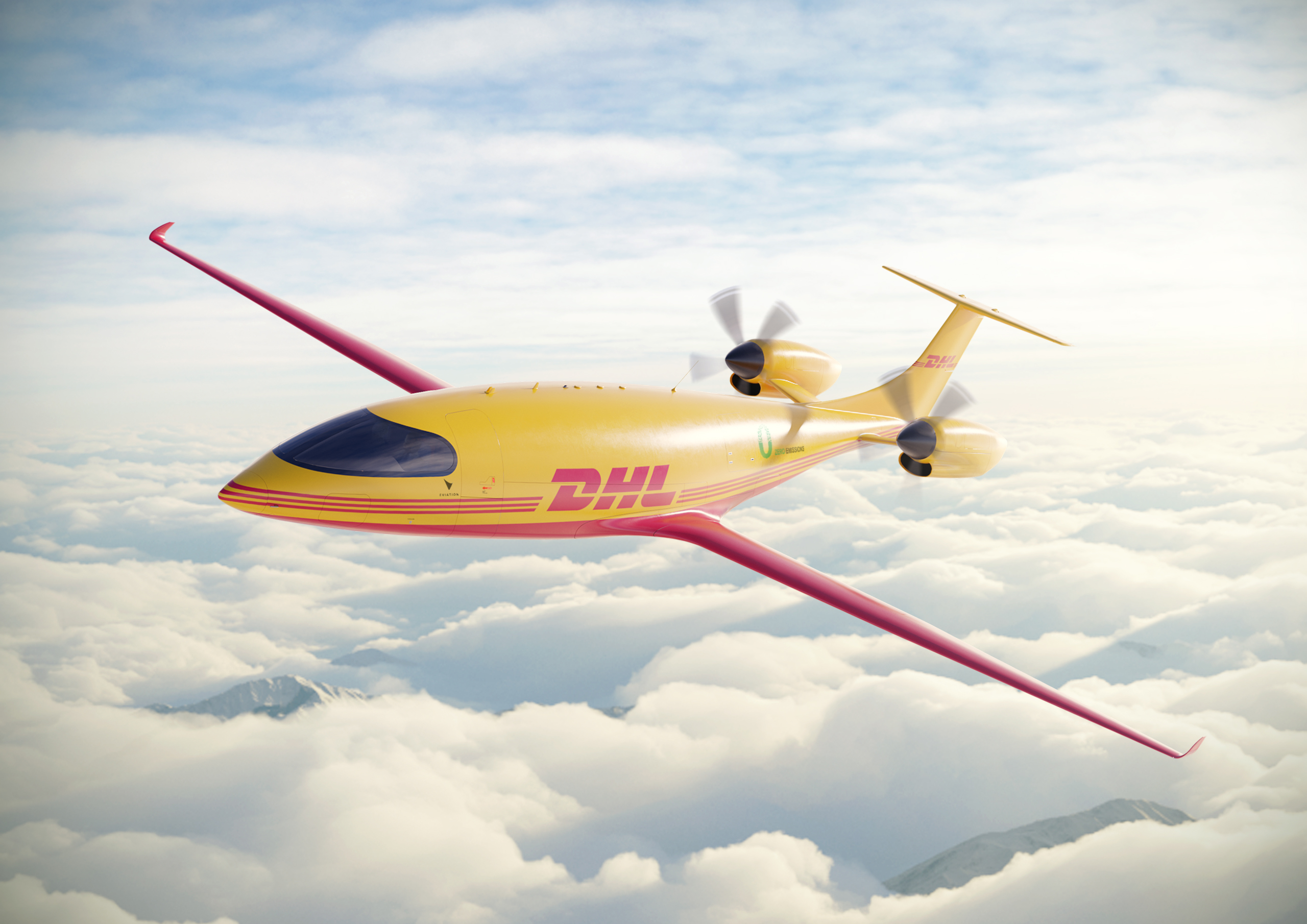 DHL ExpressAlice electric aircraft.