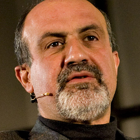Nassim Nicholas Taleb, author of