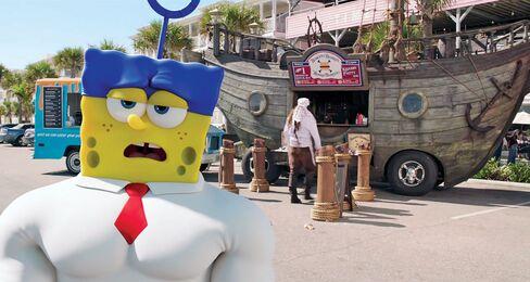 The new SpongeBob movie.