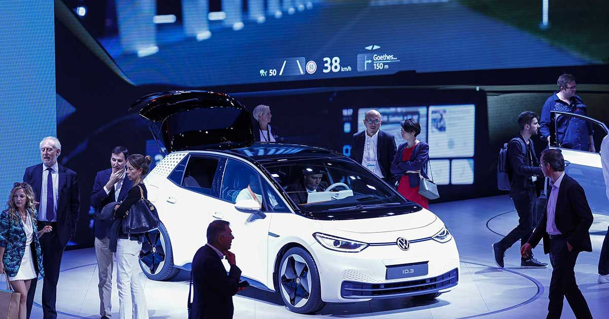 VW's $50 Billion Moonshot Bet on an Electric Hatchback