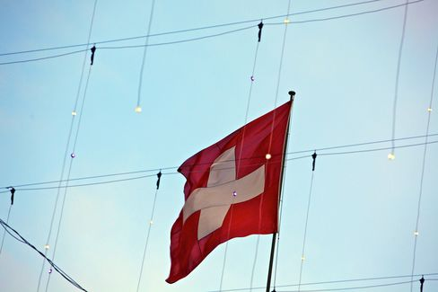 Swiss Stocks Fall for Third Day Before U.S. Jobless Claims Data