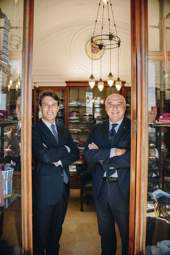 How a Silk Necktie Company Built a Cult Following Out of a Tiny Naples Shop