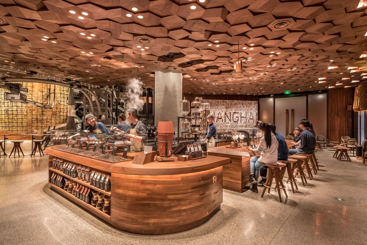 World S Biggest Starbucks To Open In Shanghai Bloomberg