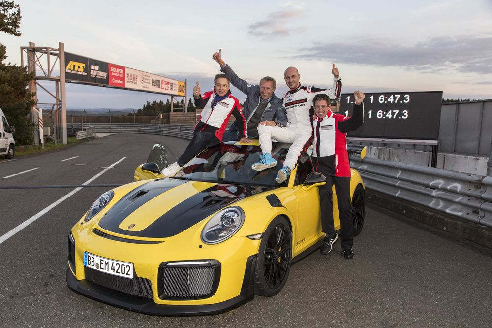 How to Get the Porsche That Just Blasted Lambo's Nurburgring Record