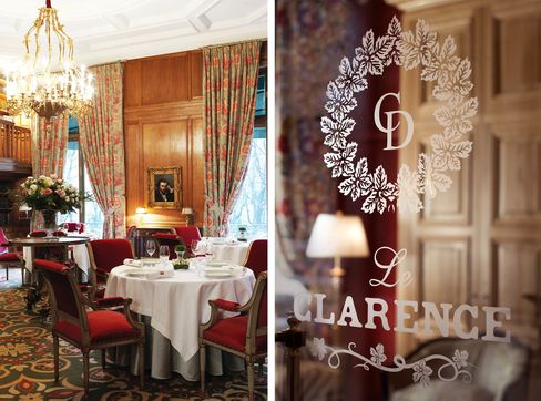 Furtherdetails from Le Clarence.