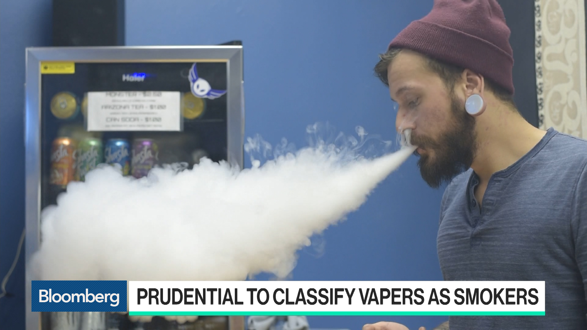 Prudential to Classify Vapers as Smokers