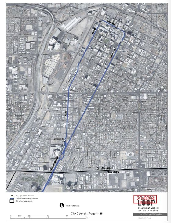 Elon Musk's Proposed Vegas Strip Transit System Advanced by City Council Vote