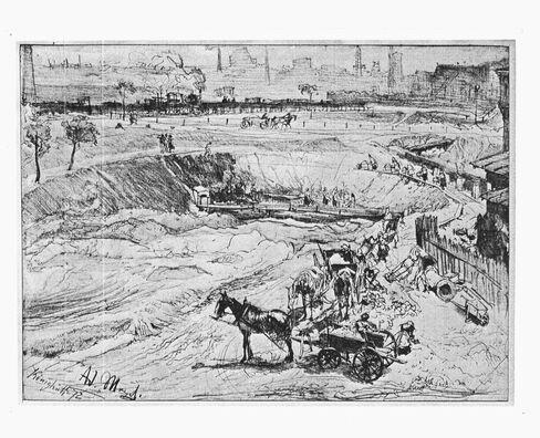 'Tagebau in Koenigshuette'
