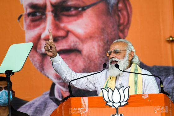 What's at Stake for Modi in India's First State Vote Since Covid