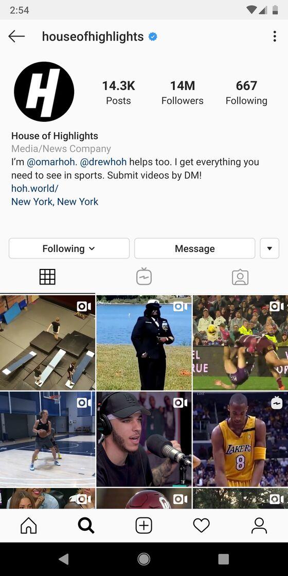 Beating ESPN on Instagram Isn't Enough for Bleacher Report's House of Highlights