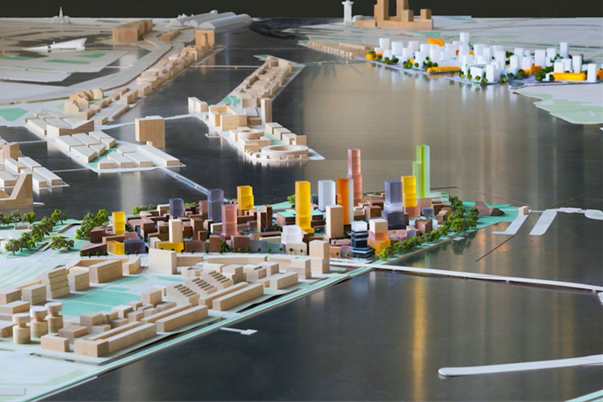 Amsterdam's High-Rise Island, Inspired by Chicago and Toronto