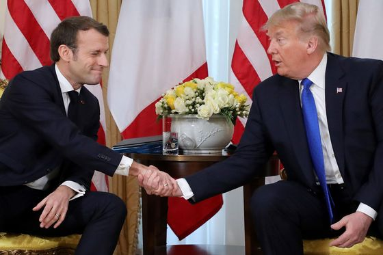 Macron, Trump May Have Tariff Truce in 2020 Digital Tax Spat