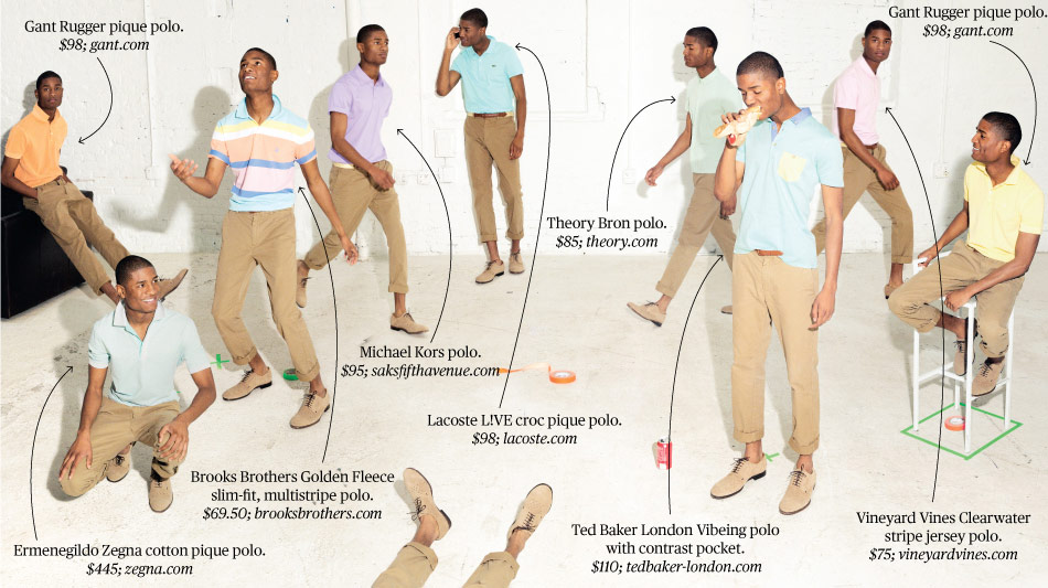 newest f3011 5c093 Pastel Polo Shirts for Men, Popped Collar Optional - Bloomberg