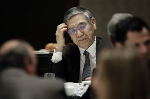 Bank of Japan Governor Haruhiko Kuroda Speaks At The Yomiuri International Economic Society