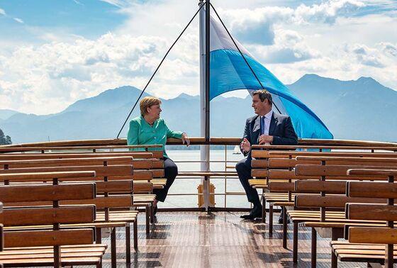 MerkelVisit to Bavaria Looks to Some Like Coronation of a Successor