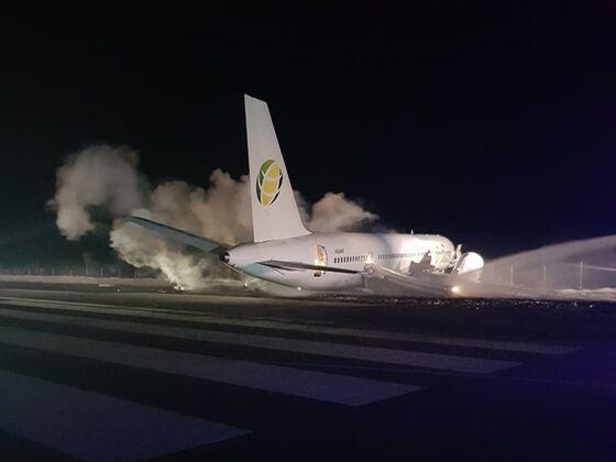 Boeing 757 Crash in Guyana InjuresSix Passengers: AFP