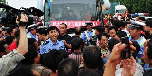 Sichuan Protest