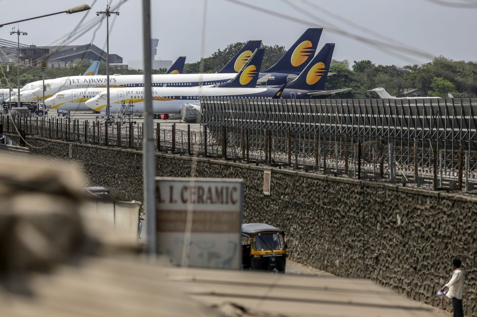 Two Grounded Airlines in a Decade Cast Doubt on India Boom - Bloomberg