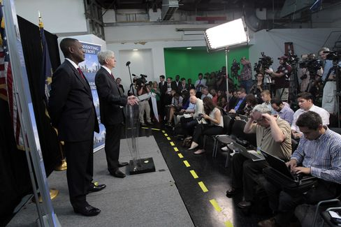 Detroit Emergency Manager Kevyn Orr & Michigan Gov. Rick Snyder