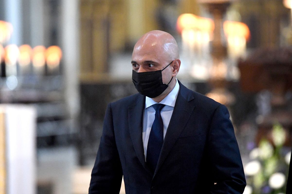 U.K.'s Javid Gets Covid Days Before England to End Virus Curbs