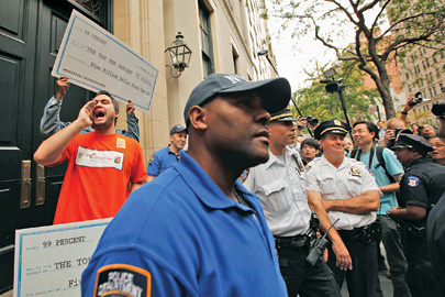 In 2011, Occupy Wall Street registered dissatisfaction in front of Paulson's New York home