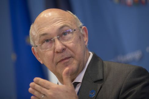 Finance Minister Michel Sapin