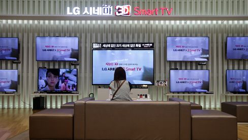 LG Electronics Profit Misses Estimates on Stalling TV Demand