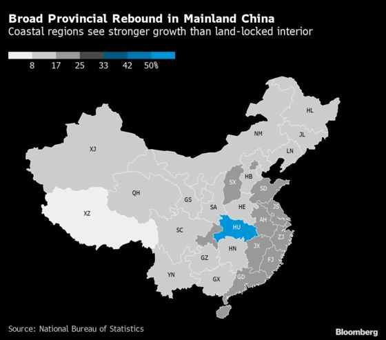China's Economic Divide Between North and South Set to Widen