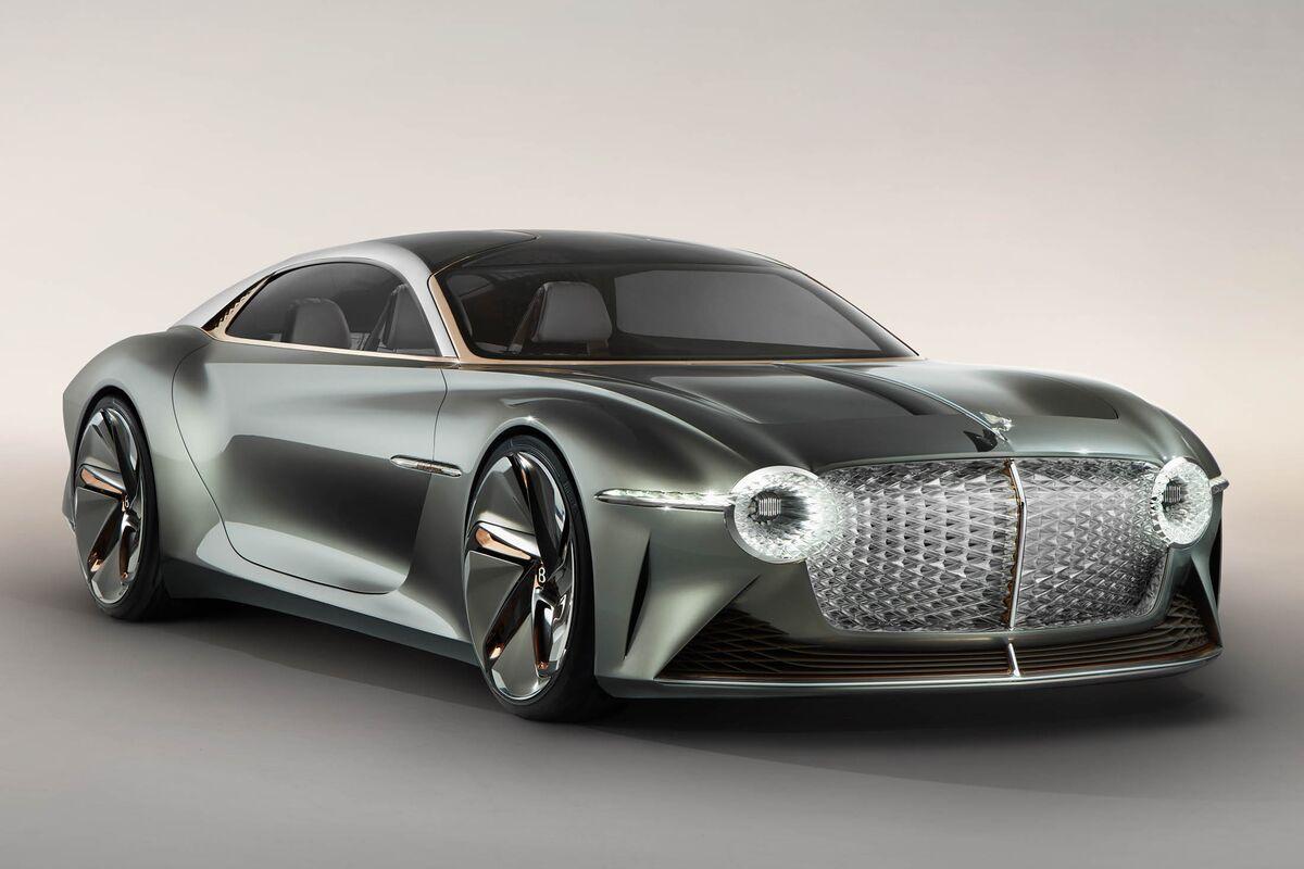 Bentley Unveils Autonomous Exp 100 Gt Concept Electric Supercar Bloomberg