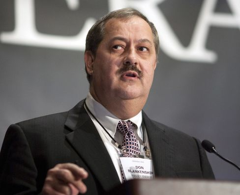 Don Blankenship, CEO of Massey Energy