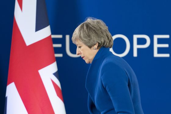 U.K.'s May Urged by Her Party to Give Clear Roadmap for Quitting