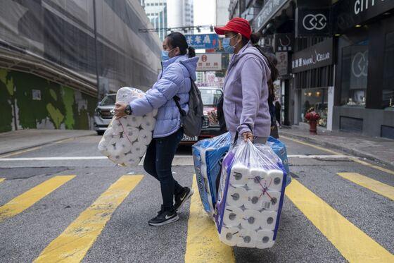 Shortage Rumors Spark Toilet Paper Panic Buying in Hong Kong