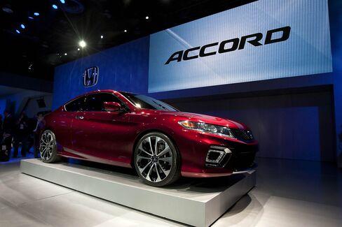 Honda-Detroit Auto Show