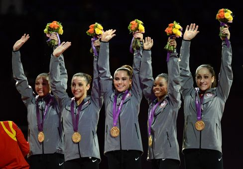 U.S. Women Gymnasts End 16-Year Wait for Olympic Team Gold