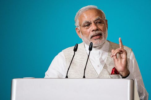 India Prime Minister Narendra Modi Delivers The ISEAS Singapore Lecture