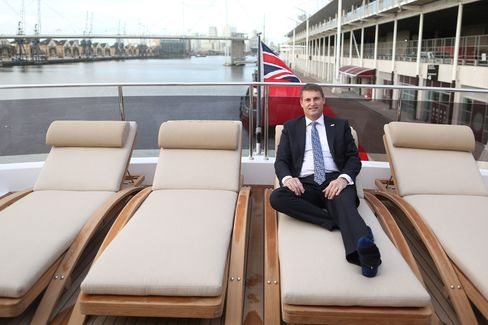 Aboard the Sunseeker 131, CEO Phil Popham is confident in the growth of the company's ultra-high-net-worth client base in the next few years.