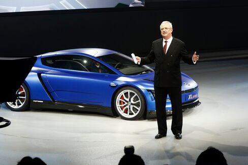 Martin Winterkorn, chief executive officer of Volkswagen.