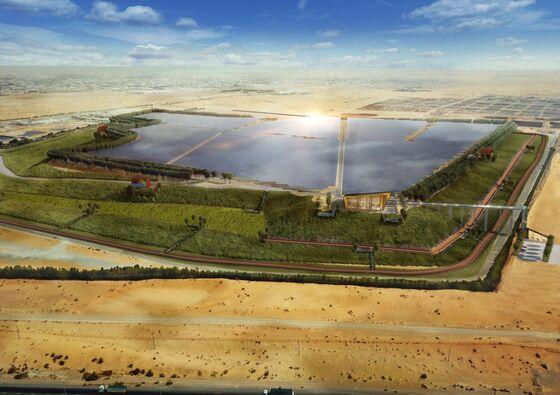 Garbage Dump to Morph Into Solar Farm in UAE Arabian Desert
