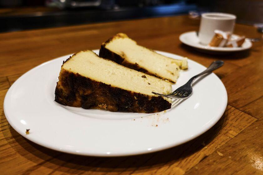 Spanish Cheese cake from San Sebastian.