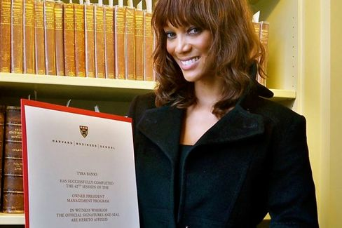 What Tyra Banks Learned at Harvard