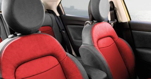 More than 100 genuine Mopar accessories are available for the 2016 Fiat 500X. Owners can transform the interior of their new car with premium leather Katzkin seats. Prices range from $813 for uninstalled seats to $1,775 for installed seats.